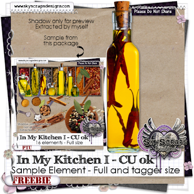 Kitchen, Spices, Food, Apples, Peppers, Fruit, Rosemary SkyScraps-IMK-Freebie